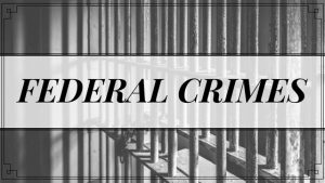 Federal Crimes Michigan